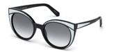 購入またはモデルの画像を拡大 Swarovski Eyewear SK0178-01B.